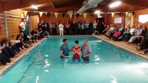 baptism pool matt s baptism watchet baptist church easter 2017
