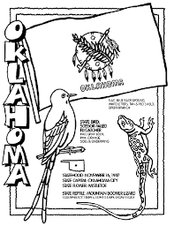 united states symbols coloring pages oklahoma state symbol coloring page by crayola print or color