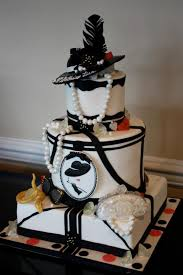 wedding cake semarang black and white bling fashion birthday cake birthdaycake