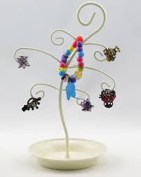 tree ornament ring holder unique metal scroll