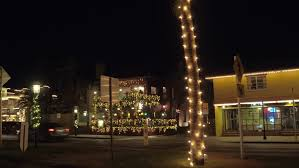 st augustine lights tour aerial video christmas lights st augustine fl stock footage video