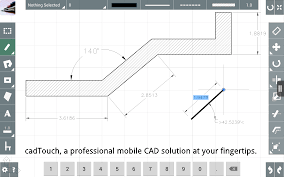 cad touch the professional cad application for ios and android