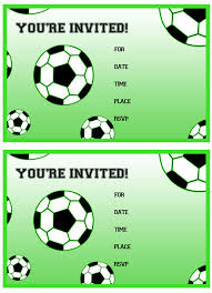 free birthday invitations free printable soccer birthday party invitations from