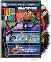 Amazon Com Titan Controls Dual by Amazon Com Teen Titans The Complete Third Season Dc Comics