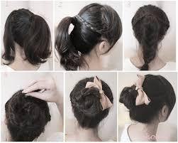 tutorial mengikat rambut kepang cara mengikat rambut cantik ala wanita korea untuk pergi kerja
