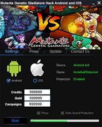 mutants genetic gladiators apk mutants genetic gladiators hack gold generator elite files