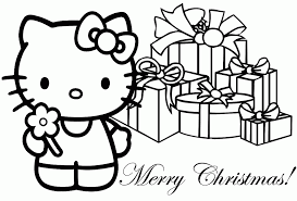 kids christmas coloring pages printable kids coloring