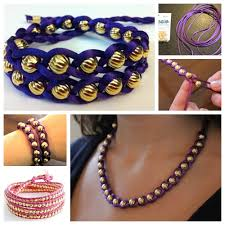 make bracelet with beads images Wonderful diy braided bracelet with bead jpg