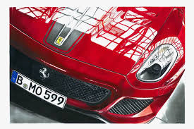 car ferrari drawing realistic car drawings interview with przemek wiecek