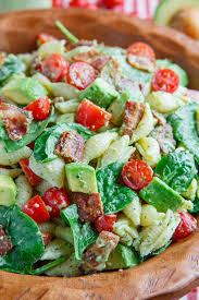 Mexican Pasta Salad Avocado Blt Pasta Salad On Closet Cooking
