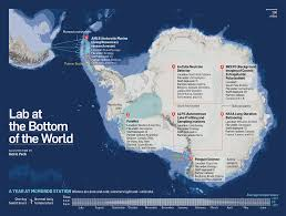 Antartica Map Science On Ice 7 Antarctic Experiments To Keep An Eye On