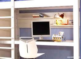 fabriquer bureau enfant lit bureau mezzanine enfant 195177 beraue lit bureau