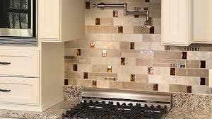 kitchen backsplashes with granite countertops brown glass