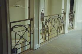 Contemporary Banisters And Handrails Interior Railings Birmingham Al Allen Iron Works Birmingham Al