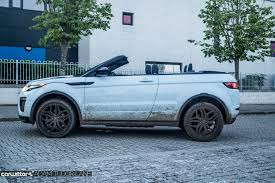 range rover evoque blue range rover evoque convertible review carwitter