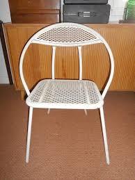 Mid Century Modern Outdoor Furniture Vintage Mid Century Modern Salterini Folding Round Hoop Patio
