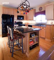 Custom Island Kitchen Kitchen Inspiring U Shape Kitchen Design Ideas Using Oak Wood