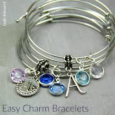 diy charm bracelet charms images Diy charm bracelet bangles tutorial crafts unleashed jpg