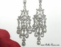 Bridal Chandelier Earrings Wedding U0026 Bridal Earrings Chandelier Earrings Bella Tiara Com