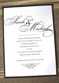 wedding invitation messages invite verbiage bf digital printing
