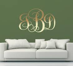monogrammed home decor gold monogram wall decor monogram wall décor for you u2013 the