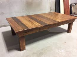 outdoor wood coffee table large reclaimed wood coffee table reclaimed wood coffee table in