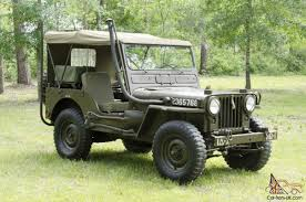 first willys jeep jeep military m38