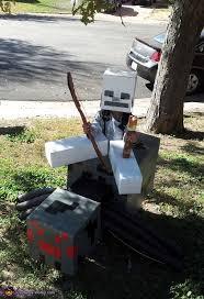 Craft Halloween Costumes Minecraft Spider Jockey Halloween Costume
