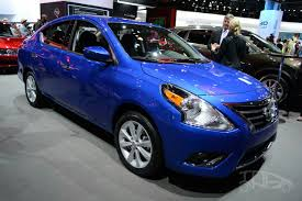 nissan versa sedan 2016 2015 nissan versa debuts in new york live