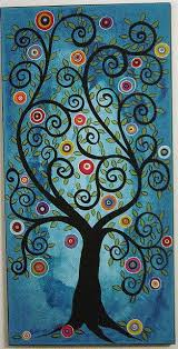 33 best swirly tree images on stenciling tree of