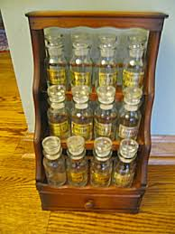 Old Fashioned Spice Rack Spice Racks Kitchen Collectibles Tias Com