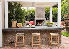 cuisine d été extérieure en cuisine d ete exterieur superbe construction un barbecue exterieure