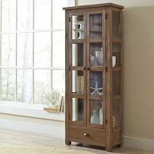 lisbon solid rubberwood china cabinet birch lane seneca solid pine curio cabinet reviews birch lane