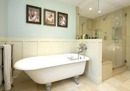 bathroom paneling ideas half wall paneling creative ideas wood trim and molding create the