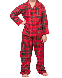 tom jerry infant boys plaid tailored pajamas