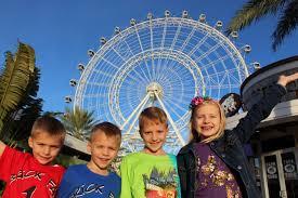 400 feet in the sky riding the orlando eye huge ferris wheel