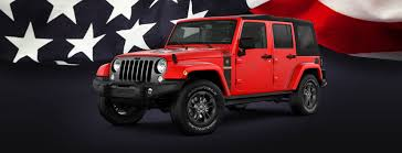 jeep wrangler red 2018 jeep wrangler jk freedom limited edition suv