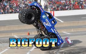 monster trucks bigfoot 5 monster truck wallpapers