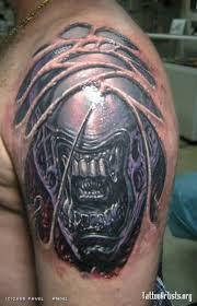 tattoo art biomechanical tattoos