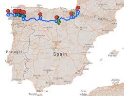 Camino De Santiago Map Mapping Pilgrimage Past And Present El Camino De Santiago