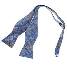 new years bow tie dba7b18c blue dress gift patterned self bowtie new year s day