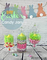 awesome diy easter candy jars