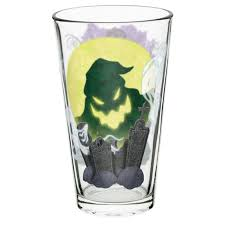 nightmare before pint glasses for sale