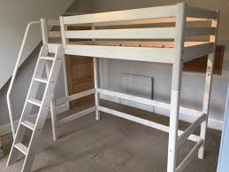 Midi Bunk Beds Flexa Hi Midi Sleeper White Single Bed And Mattress With