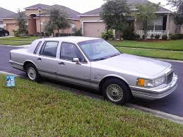 Old Lincoln Town Car Daily Miracles Abe In His Hooptie Ride