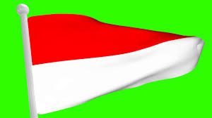 Indonesian Flag Animation Free Green Screen Footage Indonesia Flag Full Screen Youtube