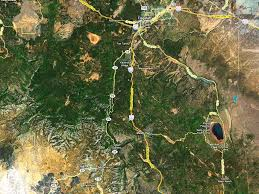 Sedona Map On Our Way To Sedona Arizona