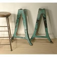 antique metal table legs industrial table legs cast iron metal leg pair inside antique metal