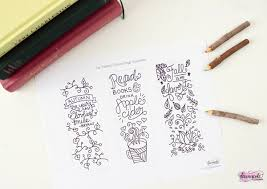 free printable fall coloring bookmarks free printable