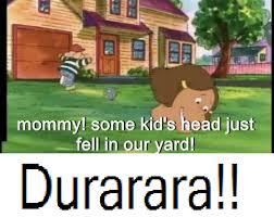 Durarara Memes - durarara in a nutshell durarara know your meme